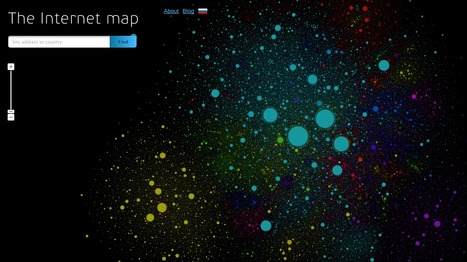The Internet Map | Techy Touchy Tools | Scoop.it