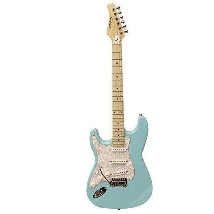 74d710ef067 Sawtooth ST-ES-LH-DBLP Left Handed ST Style Electric Guitar