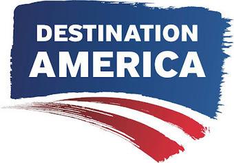 New logo: Destination America   Corporate Identity   Scoop.it