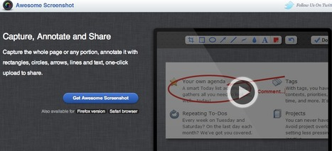 Awesome Screenshot - Capture, Annotate and Share | MyEdu&PLN | Scoop.it