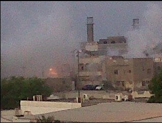 The tear gas in #BaniJamra on Aug31,2011 early morning - Bahrain | Human Rights and the Will to be free | Scoop.it