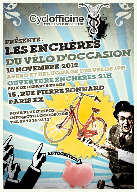 Les enchères du vélo d occasion à la Cyclofficine de Paris   Paris Est  Villages b3df5172941