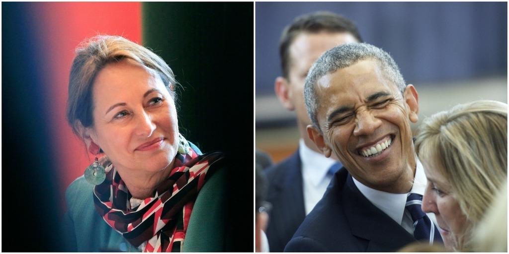 Ségolène Royal modifie son tweet qui félicitait Barack Obama pour ses