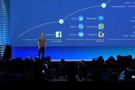 Facebook dévoile sa stratégie pour les dix prochaines années | Pense pas bête : Tourisme, Web, Stratégie numérique et Culture | Scoop.it