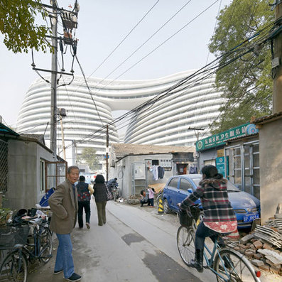 Galaxy Soho by Zaha Hadid Architects photographed by Hufton+Crow   Architecture, design & algorithms   Scoop.it