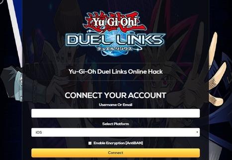 yugioh duel links gems hack apk