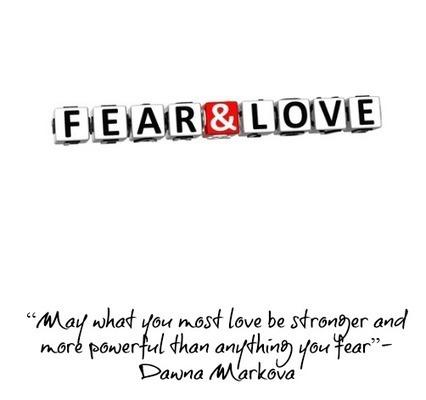 Perspective: Love Versus Fear | The Millennials Mentor | Scoop.it