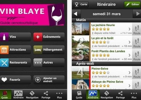 Guide des applications oenotourisme sur iPhone et Androïd - Magazine du vin - Mon Vigneron | Communication Vin | Scoop.it