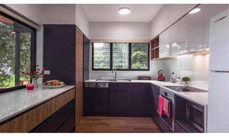 U Shaped Modular Kitchen Designs In Delhi Indi