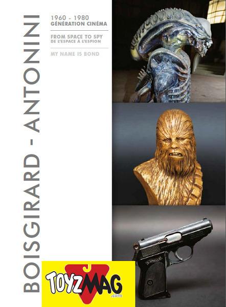 Bond, Alien... des objets de films cultes mis aux enchères à Drouot par Benoit Ramognino | Vente aux encheres: Mobilier design et Pop culture | Scoop.it