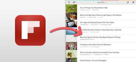 How to Save from Flipboard for iPad to Pocket | Flipboard | Scoop.it