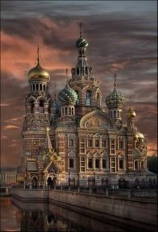 Saint Basil's Cathedral, Saint Petersburg.   Beautiful places.   Scoop.it