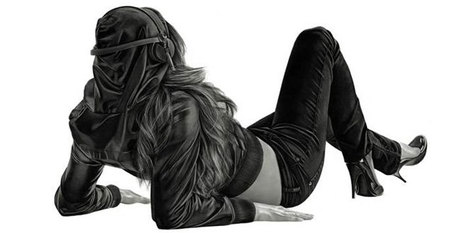 Hyperrealism Carbon Art by Yanni Floros | Adobe Illustrator Tutorials | Scoop.it