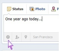 """Now You Can Assign Past Dates To Facebook Timeline Posts 