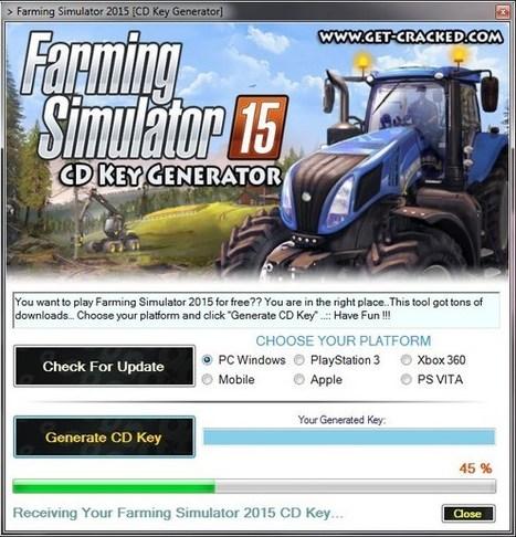 agricultural simulator 2012 serial code