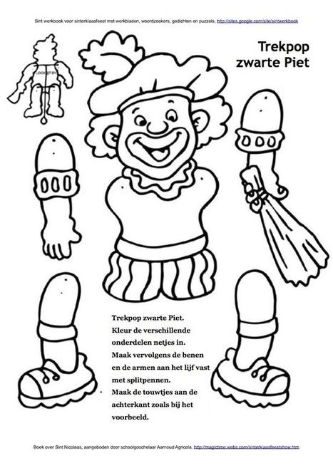 Trekpop Zwarte Piet | Sinterklaasfeest, feest met Sint Nicolaas, Zwarte Piet en goochelaar in voorprogramma | Scoop.it