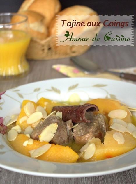 tajine d'agneau aux coings | Cuisine Algerienne, cuisine du monde | Scoop.it