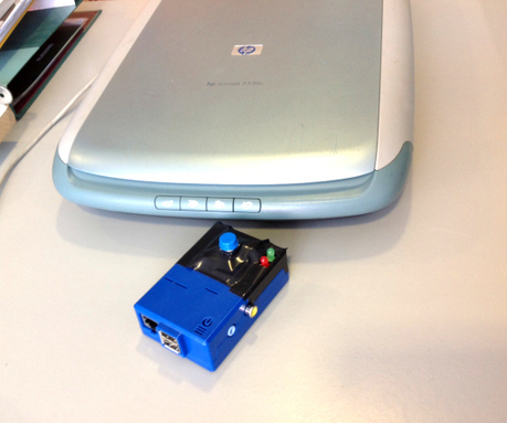 One-button scan to email using Raspberry Pi | Raspberry Pi | Scoop.it