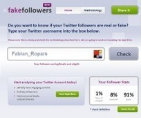 Un nouveau site pour démasquer ses fake followers Twitter | Médias sociaux et tout ça | Scoop.it