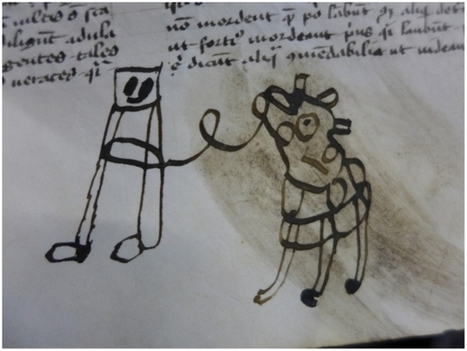 Ces sales gosses du Moyen Âge qui griffonnaient dans les manuscrits | Trucs de bibliothécaires | Scoop.it