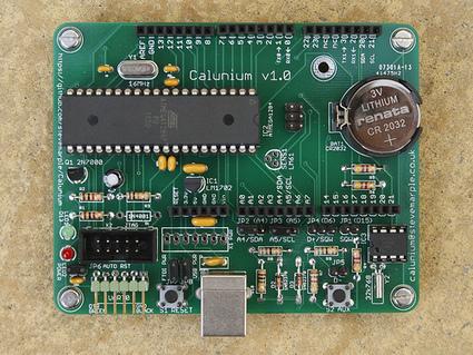 Calunium: An ATMega1284 Arduino Clone - Electronics Lab | Arduino Focus | Scoop.it