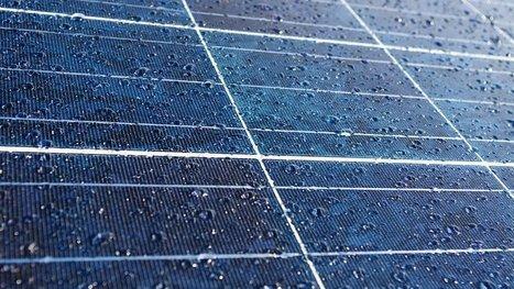 Des panneaux solairesqui récupèrent l'énergie de la… pluie ! | Makers, DIY et révolution numérique | Scoop.it