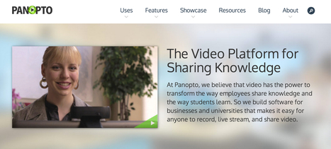 @panopto - Video Platform for Businesses and Universities   Online Video Provider (OVP) List   Scoop.it