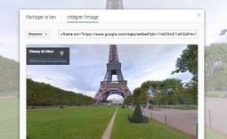 Google permet d'insérer dans un site Street View et Photo Sphere - Les Outils Google | Journalisme augmenté | Scoop.it