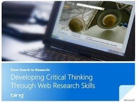 Developing Critical Thinking Through Web Search Skills ~ Educational Technology and Mobile Learning   Digital Learning, Technology, Education   Scoop.it