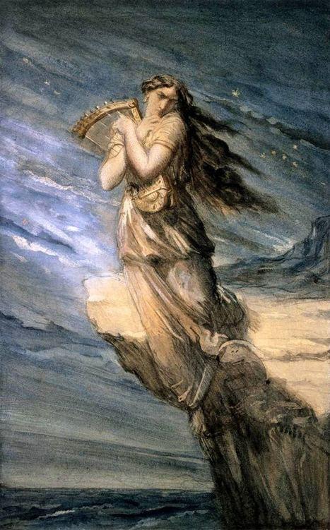 Las dos poetisas Safo – Leyenda y vida   Pintura y Artistas   Safo, la décima Musa.   Scoop.it