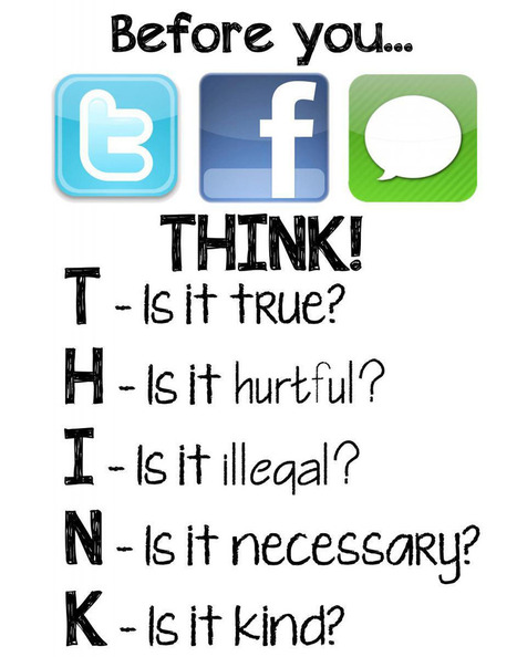Awesome Digital Citizenship Poster to Use in Your Class | Maryland School Libraries and Technology | Scoop.it