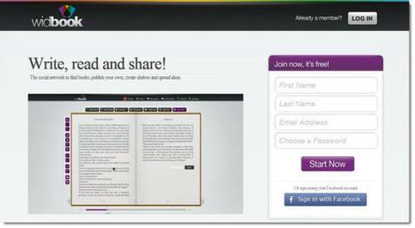 Widbook, red social para escribir y compartir libros digitales | Cultura y Second Life | Scoop.it