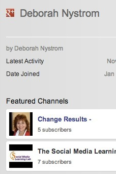 Become ONE:  Google+ profile and YouTube channel integration, MORE coming | The Social Media Learning Lab | Scoop.it