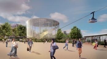 Le téléphérique d'Orléans prendra son envol en 2018 | Immobilier | Scoop.it