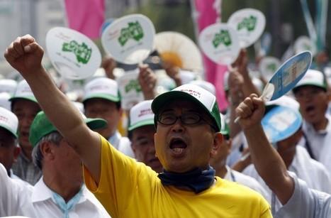 [Eng] Rassemblement de 3000 agriculteurs et pêcheurs devant le siège de Tepco | JIJI PRESS | Japon : séisme, tsunami & conséquences | Scoop.it