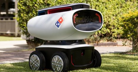 Domino's has built an autonomous pizza delivery robot | Robotics | Scoop.it