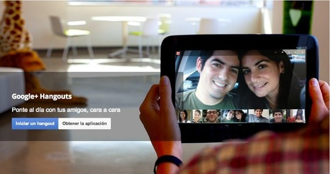 Aprender es divertido con Google Hangouts | WEBOLUTION! | Scoop.it