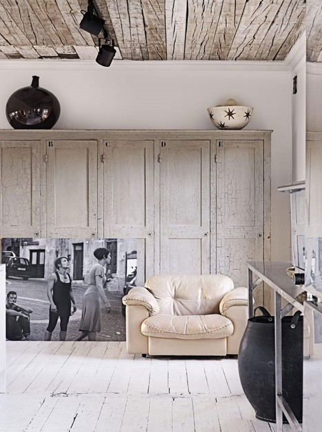 Interior Stylist Marie Olsson Nylander's Home in Sweden | Raw and Real Interior Design | Scoop.it