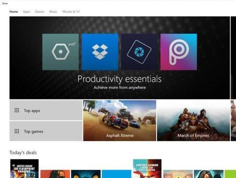Leaked Windows 10 build shows Microsoft filling a major content hole: Ebooks | book publishing | Scoop.it
