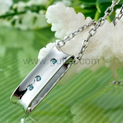 88f07fd676 Gullei.com Custom Name Necklaces Pair for Couples Made of Sterling Silver