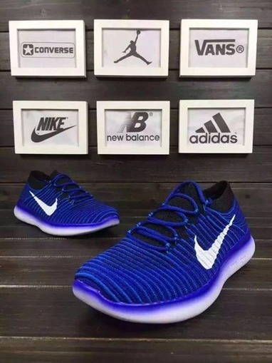 reputable site f4c28 bc57f Nike Free RN 3.0 Motion Flyknit Blue Black Running Shoes  nikefree-303  -
