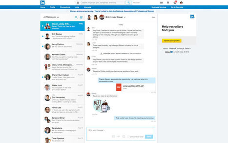LinkedIn launches 'conversation starters' to boost its messaging service | All About LinkedIn | Scoop.it