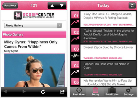 APP OF THE DAY: Currently Famous is Twitter celeb stalker heaven | iPhone Tips and Tricks | Scoop.it