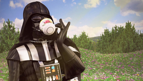 Artist creates portraits of 'Star Wars' characters on vacation | Prozac Moments | Scoop.it