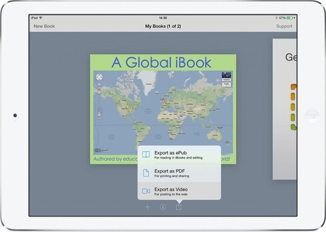 Share your ebooks as movies with Book Creator 3.1 - Book Creator app | Blog | Ipads in early years and KS1 education | Scoop.it