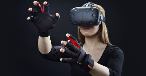 Hands-in with the gloves that virtual reality needs | Virtual University: Education in Virtual Worlds | Scoop.it