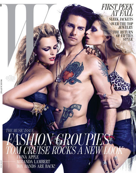 First Looks: See Tom Cruise's Full W Editorial, Tats and All   Celebrity Club   Scoop.it