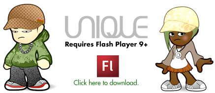 UNIQUE™ by Rasterboy - Custom Character generator | MakingAvatars | Scoop.it