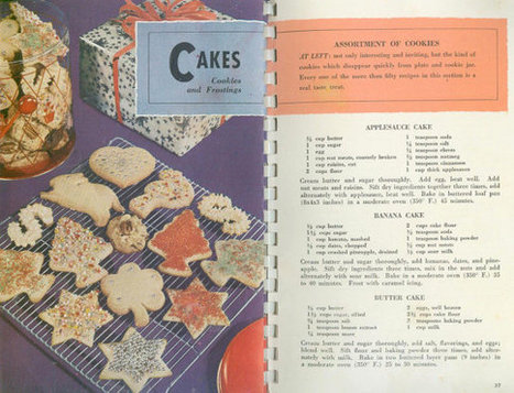 Vintage Favorite Recipes from American's Dairlyland Cook Book Cookbooklet Wisconsin | Vintage Living Today For A Future Tomorrow | Scoop.it