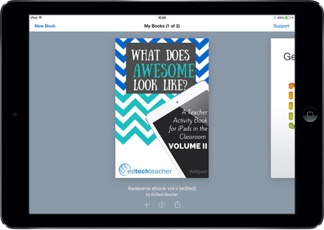 Teacher activity book for iPads in the classroom - Book Creator app | iPads edu | Scoop.it